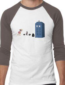 Studio Ghibli Meets the Doctor Men's Baseball ¾ T-Shirt