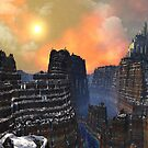 The Golden City of Elhambro Major by SpinningAngel