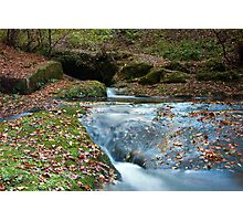 DEAN BROOK CASCADES Photographic Print