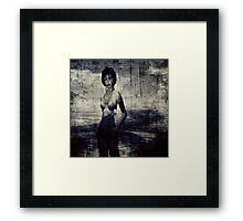 Transient woman Framed Print