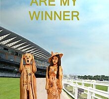 The Scream World Tour with Fashion Ascot Races you are my winner by Eric Kempson