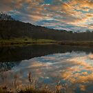 Days end on the river Brathay by Shaun Whiteman