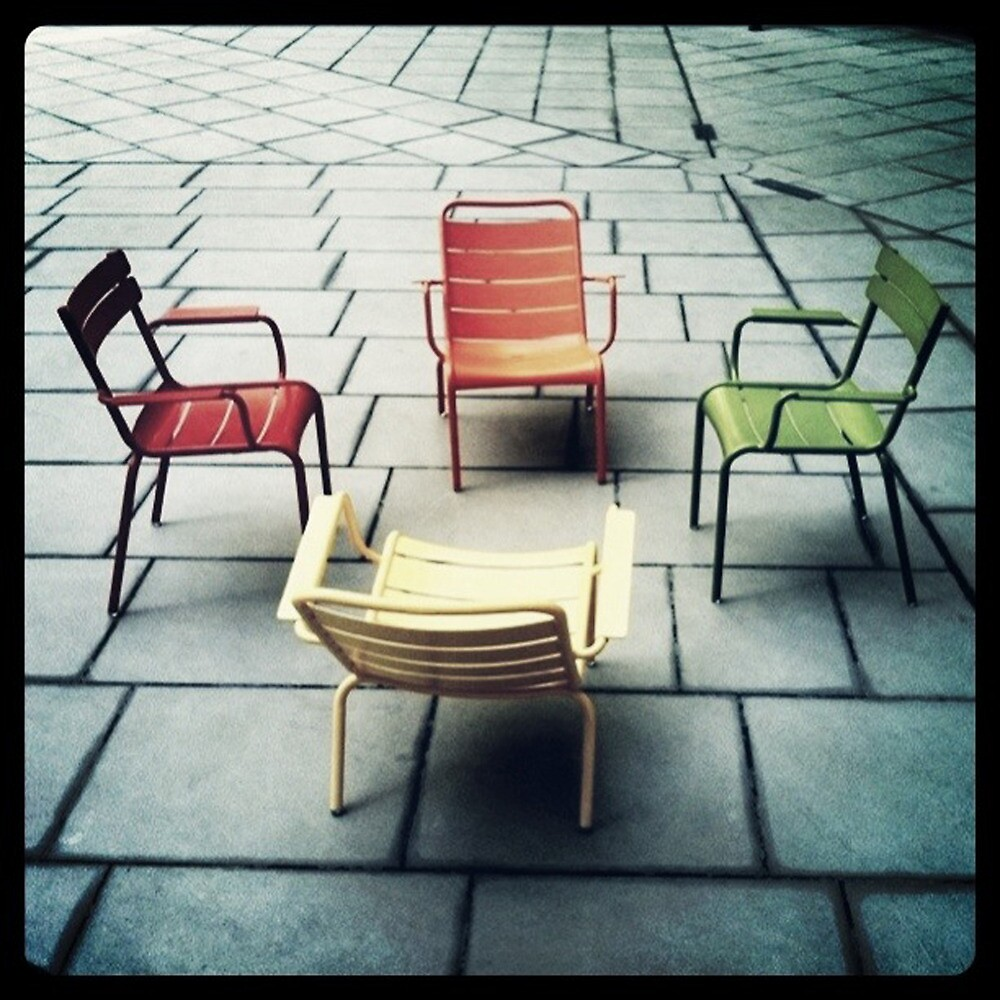 chairs by Tony Day