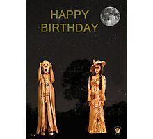 The Scream World Tour with Fashion Happy Birthday Photographic Print