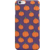 Pumpkin Patch Pop Art iPhone Case/Skin