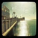 Brighton Pier Sun by iamsla