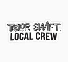 Taylor Swift's 1989 Tour Merch - Local Crew One Piece - Short Sleeve