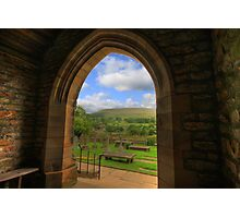 FINEST VIEW FROM ANY CHURCH IN ALL OF CHRISTENDOM Photographic Print