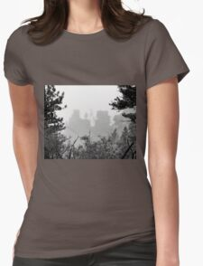 Cloudy View Womens Fitted T-Shirt