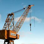 Shipyard Crane by Mark Theriault