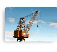 Shipyard Crane Canvas Print