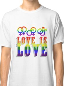 LGBT - Love is Love Classic T-Shirt