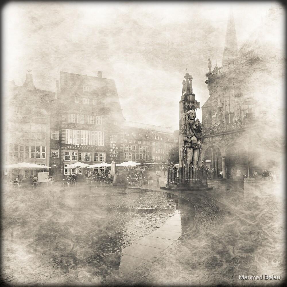 Roland in Bremen by Manfred Belau