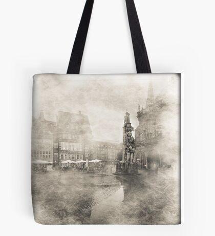 Roland in Bremen Tote Bag