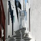 Streets of Mykonos  by imagic
