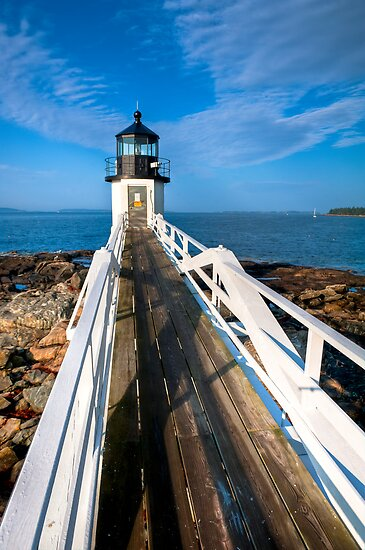 Marshall Point Lighthouse by Joe Jennelle