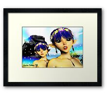 The Elf Sisters Framed Print
