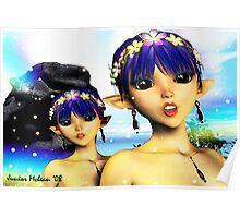 The Elf Sisters Poster