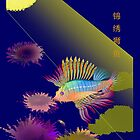 card-lion fish by LisaBeth