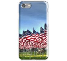 911 Flag Memorial: USA iPhone Case/Skin