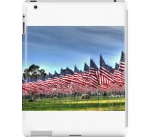 911 Flag Memorial: USA iPad Case/Skin