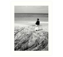 Solitude - Caribbean Beach Scene Art Print