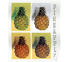 Collage-Pineapple Poster