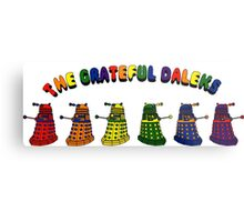 The Grateful Daleks Metal Print