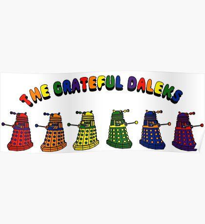 The Grateful Daleks Poster