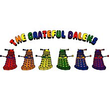 The Grateful Daleks Photographic Print