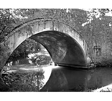 Reflections On The River - Charentes, France Photographic Print