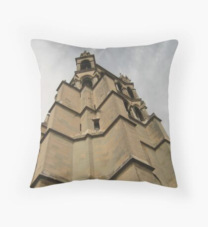 In the Tower - Lausanne, Switzerland Throw Pillow