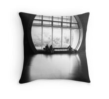 People in Patterns II Throw Pillow