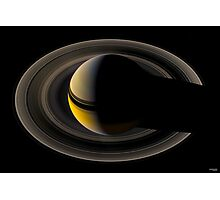 Majestic Saturn Photographic Print