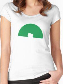 Bulbasaur Pokeball Women's Fitted Scoop T-Shirt
