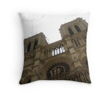 Ring the Bells - Notre Dame Throw Pillow