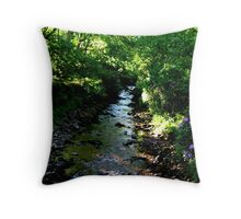 Glengarra Wood Throw Pillow
