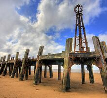ST ANNES OLD PIER by Phil  WEBB