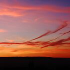 LINED PENDLE SUNSET by Phil  WEBB