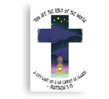 Matthew 5:14 Canvas Print