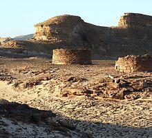 """les tombes Nawamis du Sinaï"" ""tombs Nawamis of Sinaï"" by Anyssia"