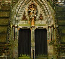 St Mark's Divinity Through Double Doors by Dave Godden