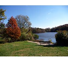 Come sit with me beside Greenbelt Lake 4 Photographic Print