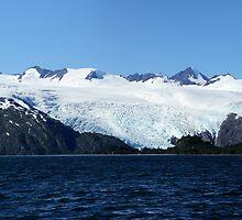 Blackstone Glacier by Gary L   Suddath