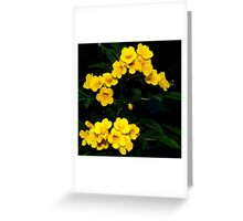 Yellow Symphony ~ Part Two Greeting Card