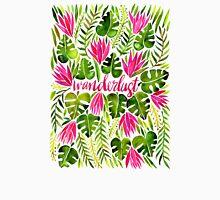 Tropical Wanderlust – Pink & Lime T-Shirt