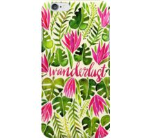 Tropical Wanderlust – Pink & Lime iPhone Case/Skin