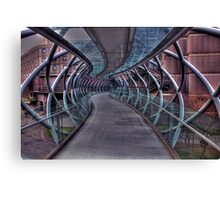 Cross over bridge Canvas Print