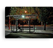 City Commuter Canvas Print