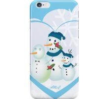 Share love this season Christmas card iPhone Case/Skin